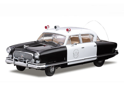 SUN5115 - 1952 NASH AMBASSADOR AIRFLYTE POLICE CAR -BLACK/WHITE