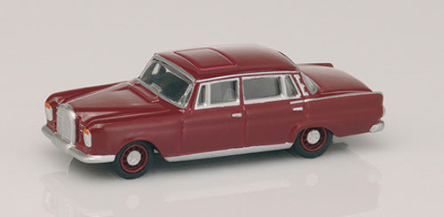 BUB06270 - MERCEDES BENZ 300SE ' HECKFLOSSE ' DARK RED