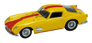 BAN7289 - FERRARI 250 GT TDF STREET 1958 YELLOW-RED