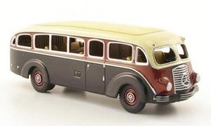 BUB07326 - MERCEDES BENZ LO3500 BUS RED / IVORY