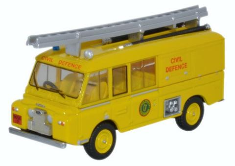 76LRC006 - LAND ROVER FT6 CIVIL DEFENCE YELLOW