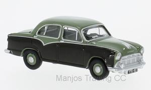76MO007 - MORRIS OXFORD III GREEN/GREY