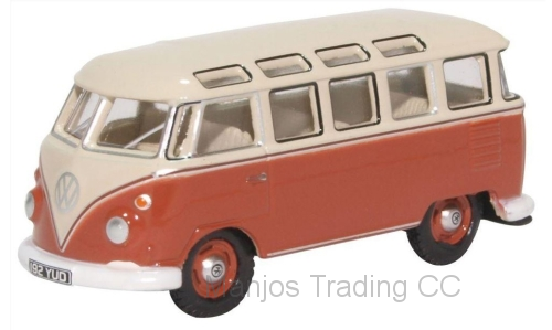 76VWS001 - VOLKSWAGEN T1 SAMBA BUS SEALING WAX RED/GREY