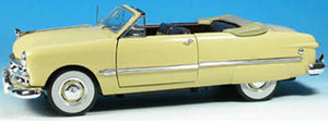 UR79601 -1949 FORD CONVERTIBLE CREAMY YELLOW