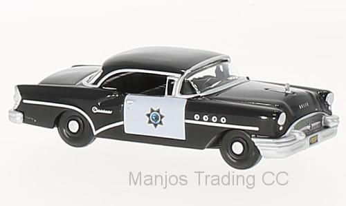 87BC55003 - BUICK CENTURY 1955 CALIFORNIA HIGHWAY PATROL