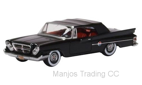 87CC61002 - CHRYSLER 300 CONVERTIBLE 1961 (CLOSED ) BLACK
