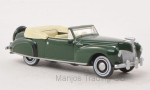 87LC41002 - LINCOLN CONTINENTAL 1941 GREEN