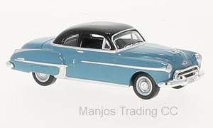 87OR50002 - OLDSMOBILE ROCKET 88 COUPE 1950 BLUE/BLACK
