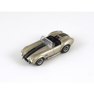 87S039 - AC COBRA 427 1966 GOLD WITH BLACK STRIPE