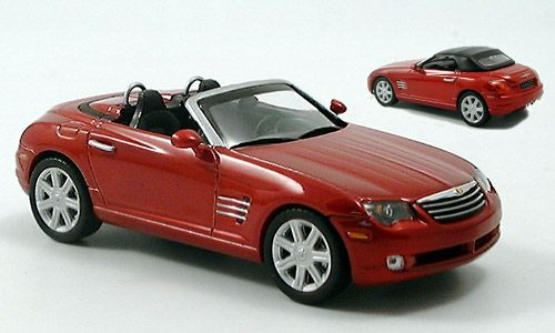 NOR940005 - CHRYSLER CROSSFIRE ROADSTER BLAZE RED CRYSTAL