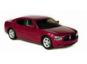 NOR950000 - DODGE CHARGER R/T INFERNO RED CRYSTAL PEARL 2006