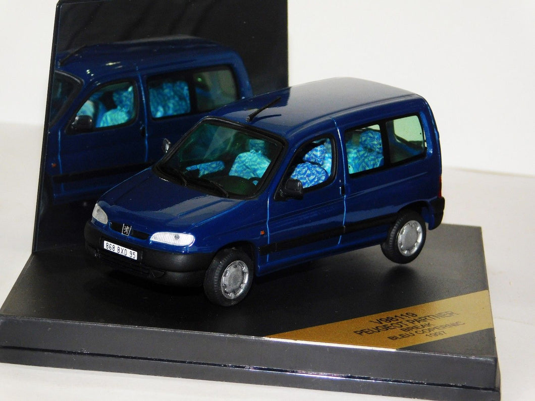 V98119 - PEUGEOT PARTNER BREAK DARK BLUE 1997