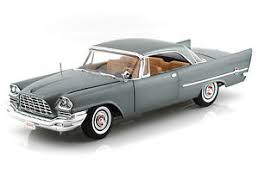 AMM1005 - 1957 CHRYSLER 300C GUNMETAL GREY WITH TAN INTERIOR