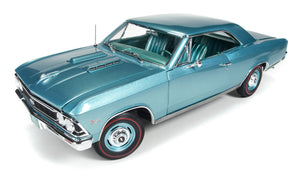 AMM1066 - 1966 CHEVROLET CHEVELLE SS 396 (50TH ANNIVERSARY 396 ENGINE) GREEN  LTD ED. OF 1002