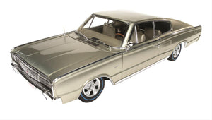 AMM1067 - 1966 DODGE CHARGER FASTBACK GOLD