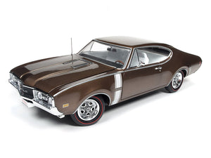 AMM1084 - 1968 OLDSMOBILE CUTLASS 442 W-30 GOLD