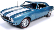 AMM1101 - 1967 CHEVROLET CAMARO Z28 50TH ANNIVERSARY BLUE WITH WHITE STRIPES