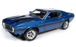 AMM1188 - 1969 SHELBY MUSTANG FASTBACK BLUE
