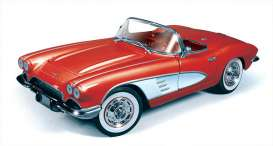 AMM991 - 1961 CHEVY CORVETTE CONVERTIBLE RED