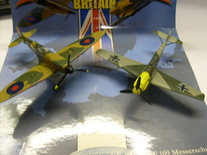 BF109 MESSERSCHMITT LUFTWAFFE SPITFIRE ROYAL AIR FORCE