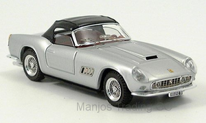 ART085 - FERRARI 250 CALIFORNIA SILVER CANOPY CLOSED