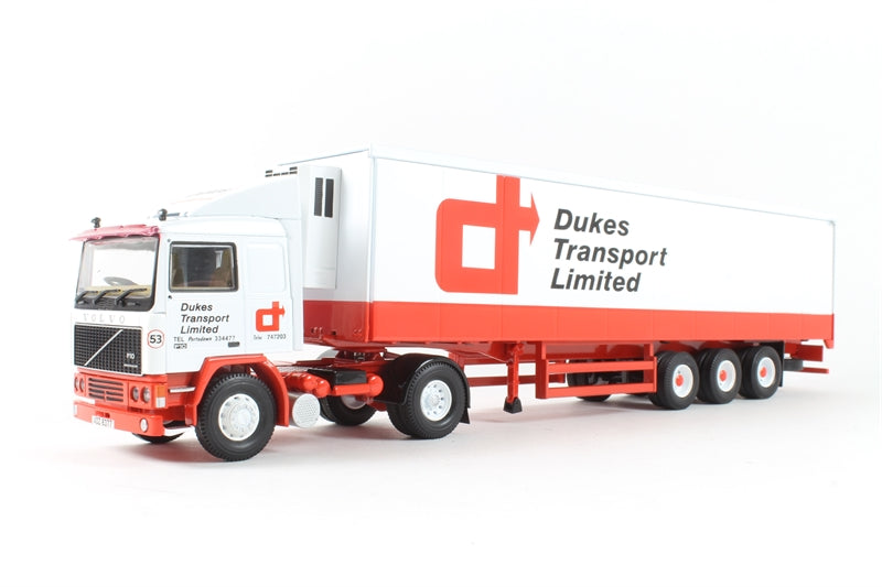 CC15506 - VOLVO F10 FRIDGE TRAILER , DUKES TRANSPORT LTD , UK