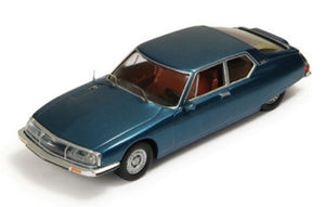 CLC096 - CITROEN SM ROUGE DE GRENADE 1970 (BROWN INTERIORS) BLUE