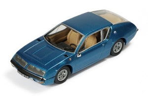 CLC126 - RENAULT ALPINE A310 BLUE WITH BEIGE INTERIORS 1972