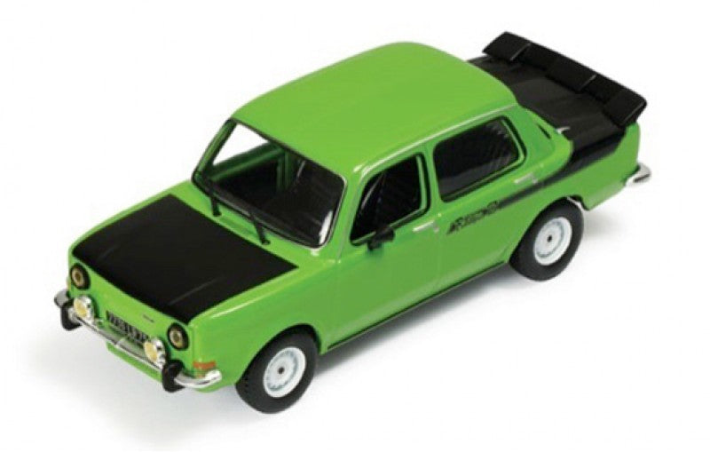SIMCA 1000 RALLY 2 GREEN AND BLACK 1976