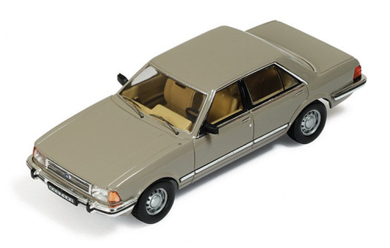 CLC186 - 1982 FORD GRANADA GOLD WITH BROWN INTERIORS