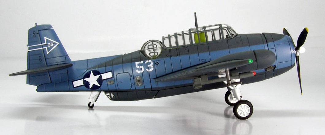 HA1205 - TBM-3 AVENGER VT(N)-90 USS ENTERPRISE (CV-6) 15 MARCH 1945 NIGHT FIGHTING BOMBER