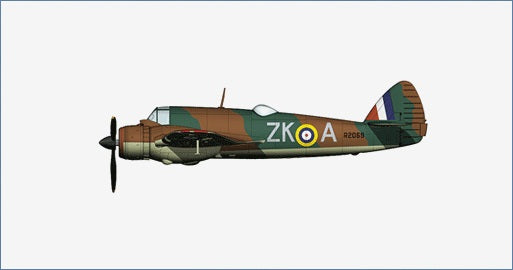 HA2313 - BRISTOL BEAUFIGHTER MK.IF R2069 ZK-A 25 SQUADRON RAF NORTH WEALD ESSEX SEPT 1940