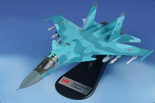 HA6301 - SU-34 FULLBACK FIGHTER BOMBER RED 03 RUSSIAN AIR FORCE SYRIA JAN 2015