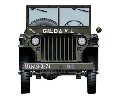HG1611 - WILLYS JEEP 101ST AIRBORNE DIVISION WW11