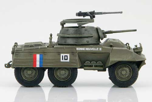 HG3806 - M8 LIGHT ARMOURED CAR FRENCH ARMY GERMANY 1944