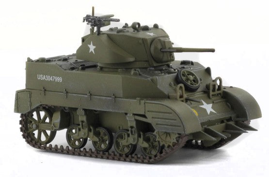 HG4901 - M5A1 US LIGHT TANK E TANK COMPANY , 83RD RECON BATTALION , 3RD ARMORED DIVISION