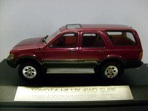 EBBHS04RE - TOYOTA HILUX SURF 4WD SSR-LTD 1989 RED