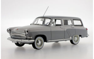IST108 - 1966 GAZ VOLGA M22G EXPORT VERSION 2 TONE LIGHT GREY\OFF WHITE