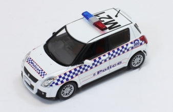JC157 - SUZUKI SWIFT SPORT 2010 AUSTRALIA MELBOURNE POLICE CAR