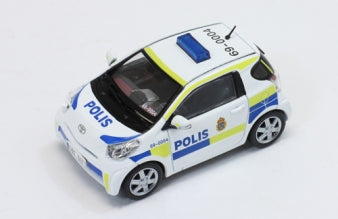 JC247 - TOYOTA IQ 2011 SWEDEN POLICE CAR