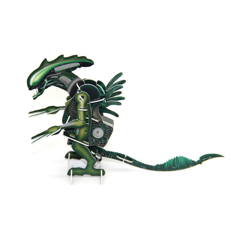 M04 - 3D WIND UP PUZZLE ALIEN