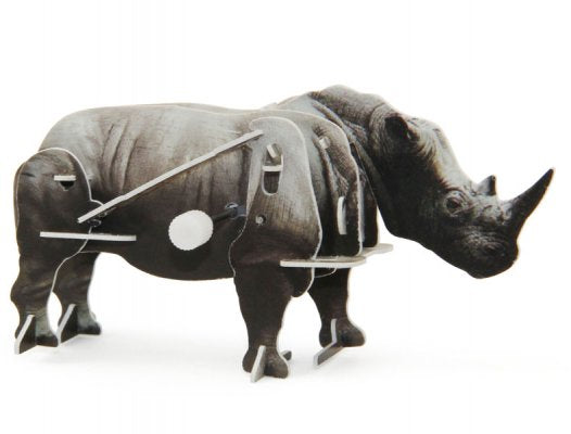 M37 - 3D WIND UP PUZZLE RHINO