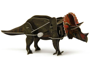 M40 - 3D WIND UP PUZZLE TRICERATOPS