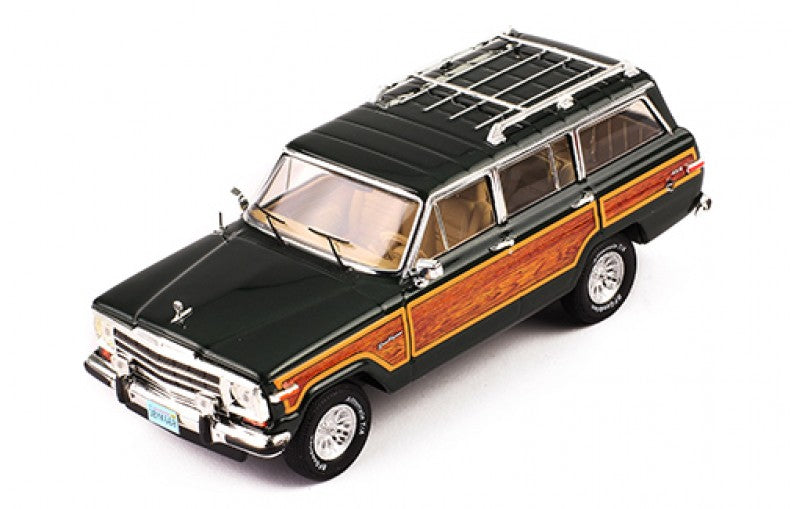 PRD133 - JEEP WAGONEER 1989 GREEN