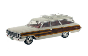 PRD203 - FORD COUNTRY SQUIRE 1964 CREAM
