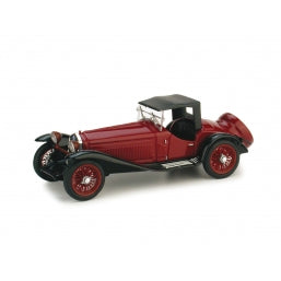 R138B-02 -- ALFA ROMEO 2300 CLOSED MAROON/BLACK 1931