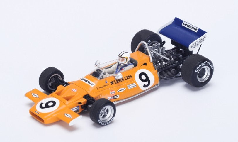 S4293 - MCLAREN M19A #9 4TH MONACO GP 1971 DENIS HULME