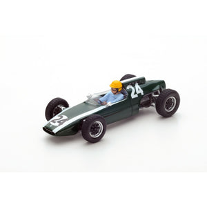 S4803 - COOPER T60 #24 2ND FRENCH GP 1962 TONY MAGGS