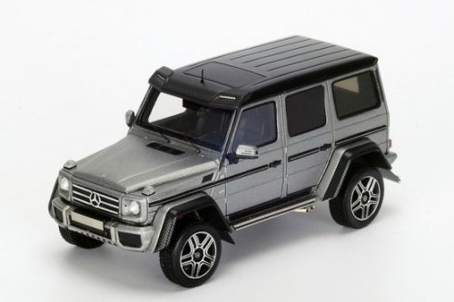 S4909 - MERCEDES BENZ AMG G500 4X4 2016 GREY WITH BLACK ROOF