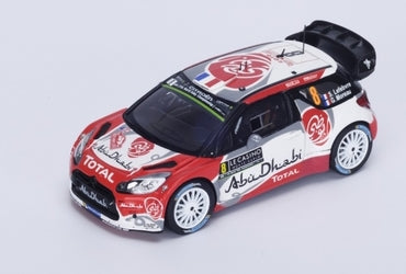 S4963 - CITROEN DS3 WRC #8 5TH MONTE CARLO 2016 ABU DHABI TOTAL WORLD RALLY TEAM S.LEFEBRE-G.MOREAU